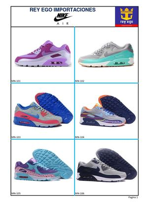 Catalogo Nike Air Max