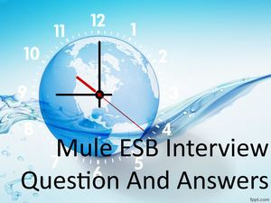 Mulesoft Esb Interview Questions