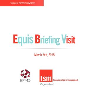 Booklet Equis Briefing Visit March 9 2018 at TSM