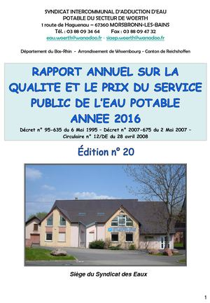 Siaep Rapport Annuel 2016