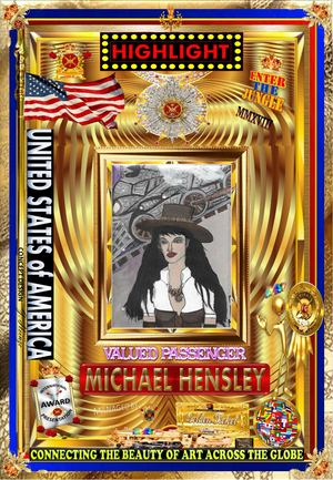Michael Hensley	from the UNITED STATES of AMERICA