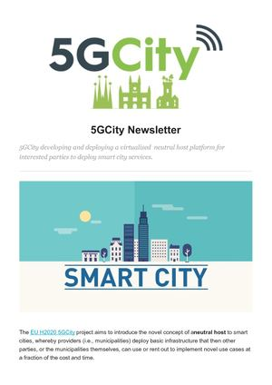 5g City Newsletter