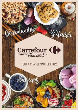 Catalogue Carrefour Market Gourmet