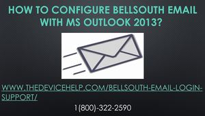 Bellsouth Email Settings (Toll Free) 1(800) 414 2180