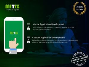 Mobile Application Development at Mitiz Technologies