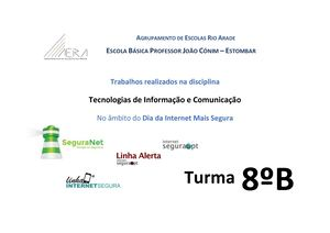 Internet Segura 18 - Turma 8BE