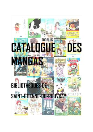 Catalogue Mangas Actu 02 03 18