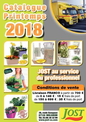 catalogue Printemps 2018