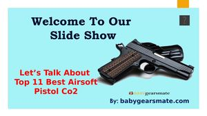 Top 5 Best Airsoft Pistol Co2