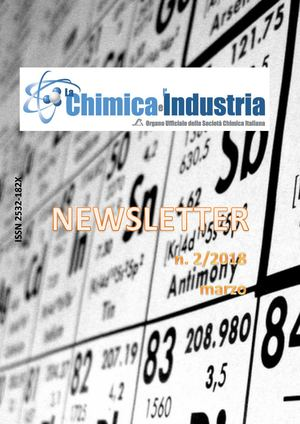 La Chimica e l'Industria Newsletter n. 2/2018