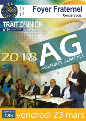 Trait d'Union Mars 2018