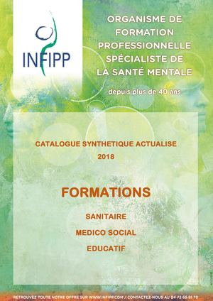 Catalogue Synthétique Formations 2018