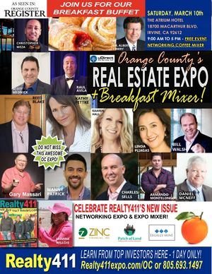 Realty411's LEVERAGE Expo in Orange County, CA