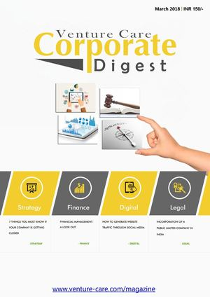 Corporate Digest Magazine- March/2018