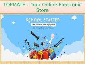 Topmate – Your Online Electronic Store