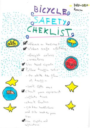 Bicycle Safety Checklist