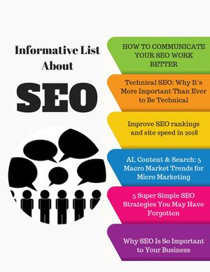 How To Communicate Your Seo Work Better