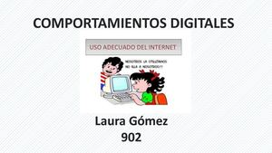 10 Comportaientos Digitales Laura G