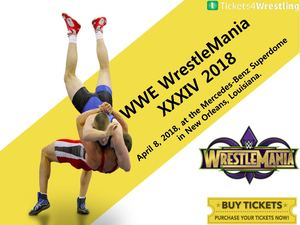 WWE Wrestlemania XXXIV Tickets Discount Coupons - Tickets4Wrestling