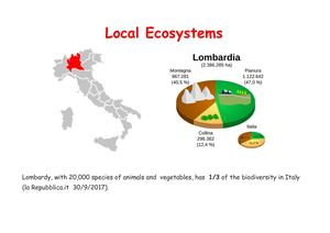 Local Ecosystems - Italy
