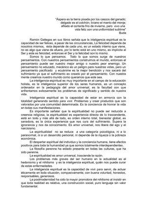 El espiritu de la educacion: Integridad y trascendencia en educacion holista (Spanish Edition)