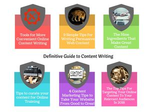 Definitive Guide To Content Writing