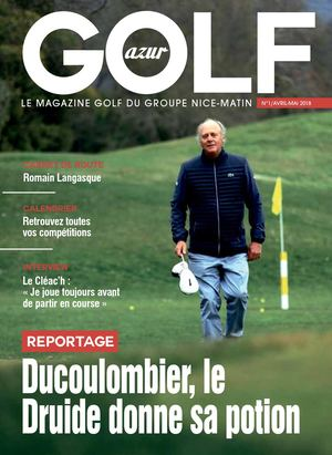 Golf Mag Demi Tabloid + Couv