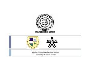 Rame Records Empresa