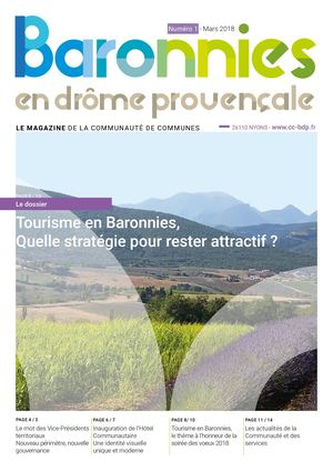 Magazine interco n°1 - mars 2018