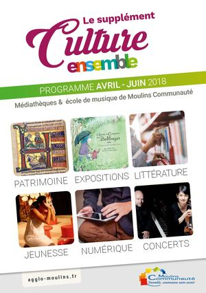 Suppl culture avril-juin 18