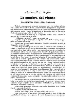 Calaméo - Carlos Ruiz Zafón Ecdllo #2 La Sombra Del Viento