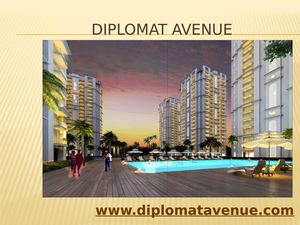 Diplomat Avenue is a good option for Investment in Dwarka Phase-2