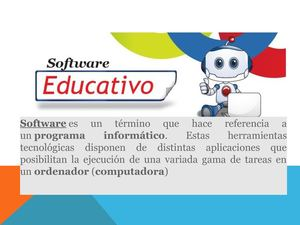 Sotfware Educativo
