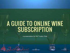 A Guide To Online Wine Subscription
