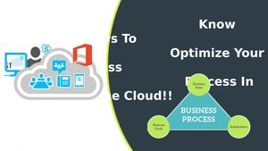 Know Significant Ways To Optimize Your Business Process In The Cloud
