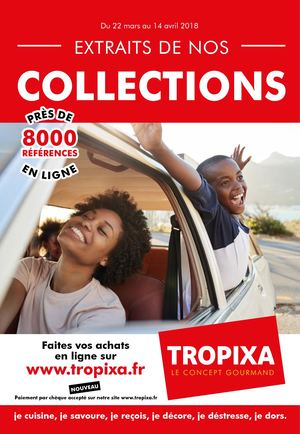 Extraits de nos collections TROPIXA