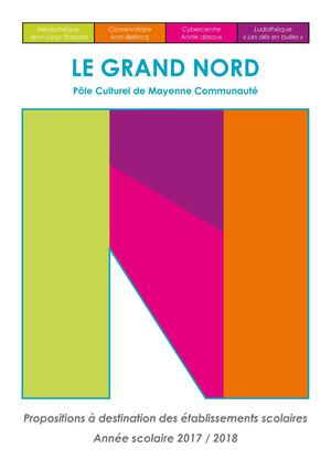 Grand Nord - Programme scolaire - 2017/2018