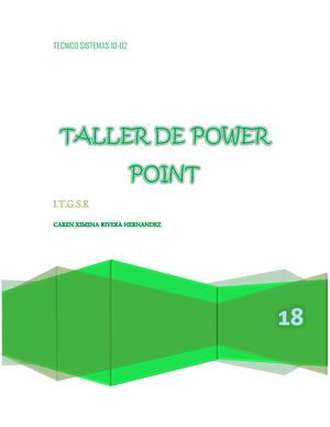 desarrollo power point