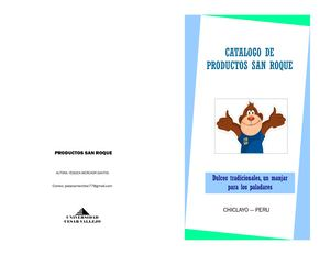Catalogo Productos San Roque