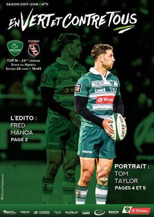 JOURNAL DE MATCH SECTION-OYONNAX
