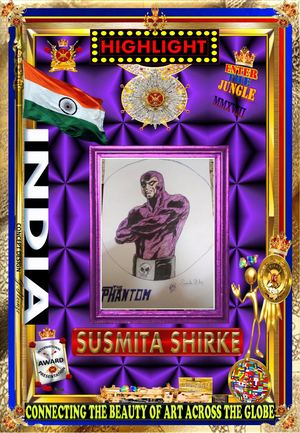 Susmita Shirke FROM INDIA