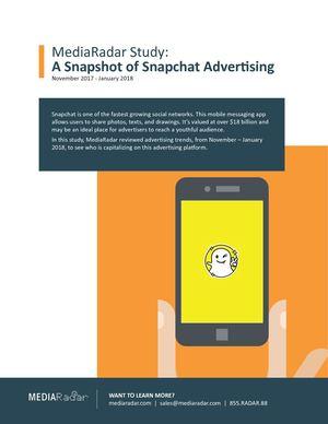 Calaméo - Snapchat Trend Report-MediaRadar