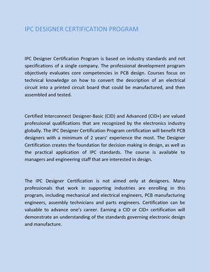 Calaméo - Ipc Designer Certification Program