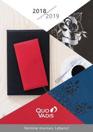 Exaclair Katalog 2018 - 2019 – Quo Vadis