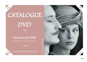 Catalogue DVD 2018