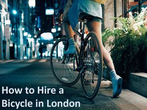 How To Hire A Bicycle In London