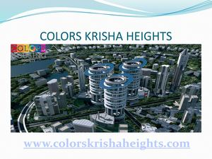 Krisha Heights offering affordable homes in Delhi NCR