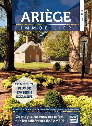 ARIEGE immobilier n°43 d'avril 2018