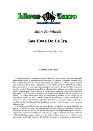 Calaméo - Steinbeck, John - Las Uvas De La Ira