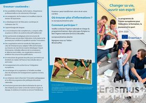 Brochure officielle - Erasmus +